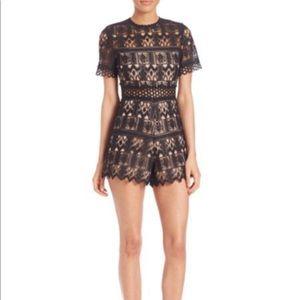 Alexis - Alexandria Lace Short Jumpsuit